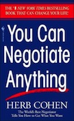 You Can Negotiate Anything:
