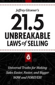 21.5 Unbreakable Laws of Selling: